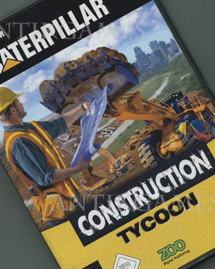 caterpillar construction tycoon pc bagger simulation ebay. Black Bedroom Furniture Sets. Home Design Ideas